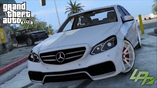 getlinkyoutube.com-GTA V CARMODS - MERCEDES-BENZ E63 AMG