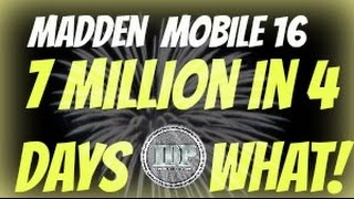getlinkyoutube.com-Ive made 7 Mil in 4 days!!! Madden Mobile 16 Filter of the Week