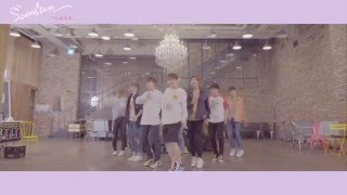 getlinkyoutube.com-[Dance Practice] SEVENTEEN(세븐틴) - 예쁘다 (Pretty U) Dancecal 'LOVE ver.'