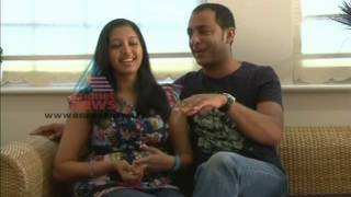 Interview with Actress Gopika and her husband Ajilesh Part 1