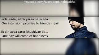 BOHEMIA - Full HD Lyrics of 'Another Level (Naya Daur)' By