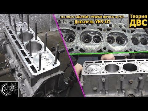 Как собрать НАДЁЖНЫЙ и МОЩНЫЙ двигатель на УАЗ? Двигатель УМЗ-417
