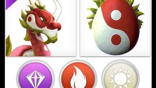 getlinkyoutube.com-How to breed Lantern Dragon ? - Dragon Mania Legends