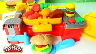 Plastilina Play Doh Creaciones a la parrilla|Play Doh en Español| Mundo de Juguetes