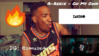 A-Reece - On My Own (Official Music Video) REACTION