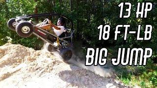 getlinkyoutube.com-420cc Go Kart Engine Swap (with MASSIVE torque)!!