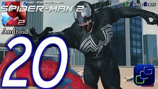 getlinkyoutube.com-The Amazing Spider-Man 2 Android Walkthrough - Part 20 - Episode 5 Completed VENOM Battle
