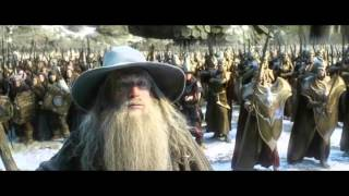 getlinkyoutube.com-The Hobbit: The Battle of the Five Armies - Extended Edition: Dwarves VS Elves Battle - Full HD