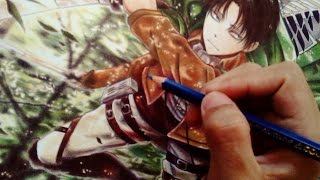 getlinkyoutube.com-Drawing Levi - Attack On Titan (Shingeki No Kyojin)