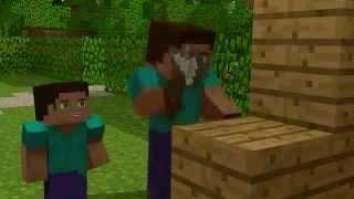 getlinkyoutube.com-Die Geschichte über Herobrine Minecraft Animation