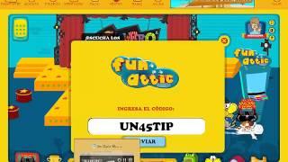 getlinkyoutube.com-Codigos de la maquina fun attic de mundo gaturro 2014
