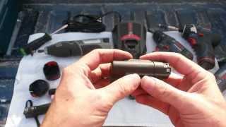 getlinkyoutube.com-Re-Building Bosch & Dremel 12V Max lithium-Ion Battery Packs ~18650 Cells