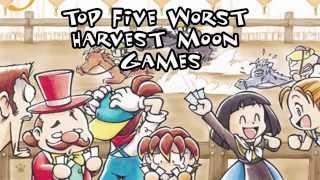 getlinkyoutube.com-Top 5 Worst Harvest Moon Games
