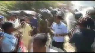 Police Attack in Ambalanthota