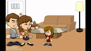 getlinkyoutube.com-Mean Big Sister Trips the Baby