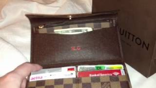 getlinkyoutube.com-Louis Vuitton Josephine wallet
