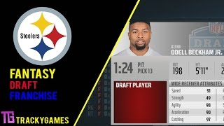 getlinkyoutube.com-Madden 16: Pittsburgh Steelers Fantasy Draft Franchise - Episode 1 - The Draft!