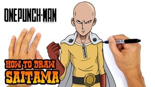 How to Draw Saitama | One Punch Man