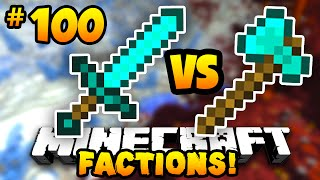 "Minecraft FACTIONS #100 ""THE FINAL BATTLE!"" w/PrestonPlayz & MrWoofless"