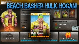 getlinkyoutube.com-Beach Basher Hulk Hogan! WWE Immortals 1.5 Gameplay! IOS/Android