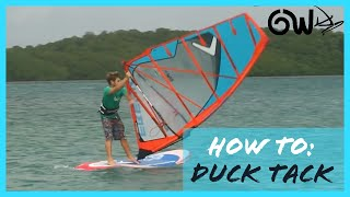 getlinkyoutube.com-Duck Tack Windsurfing