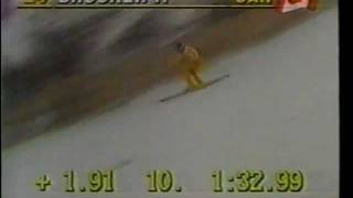 getlinkyoutube.com-【衝撃映像】スキー競技事故 Ski competition accident