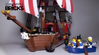 Lego Pirates 70413 The Brick Bounty - Speed Build Review