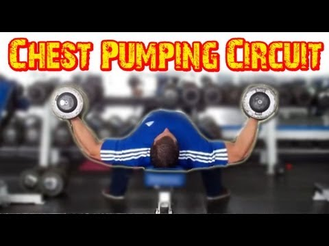 Killer CHEST Pumping Circuit Workout!