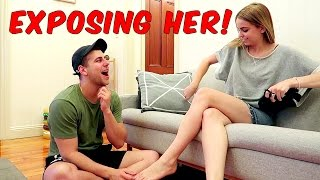 getlinkyoutube.com-Girlfriend Test PRANK – EXPOSING HER!