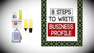 getlinkyoutube.com-8 Steps to Write a Business Profile - Write Company PROFILE