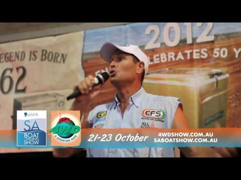 The Club Marine SA Boat and Fishing Show and 4WD and Adventure Show in on!