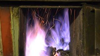 getlinkyoutube.com-Czyste spalanie węgla kamiennego w tradycyjnym kotle górnego spalania