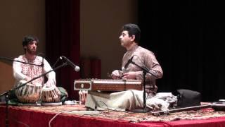 getlinkyoutube.com-Madan Oak Performing Raga Rasik Priya Vilambit Teentaal on Santoor