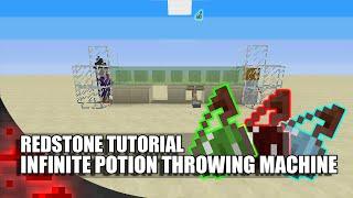 getlinkyoutube.com-Minecraft: Infinite Potion Throwing Machine!