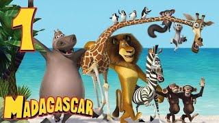 getlinkyoutube.com-Zagrajmy w: Madagaskar 1 #1 - Król Nowego Jorku