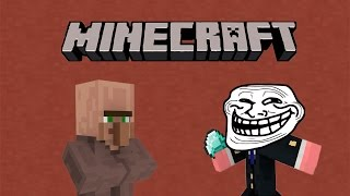 getlinkyoutube.com-5 maneras de trollear a un aldeano | Corto de Minecraft