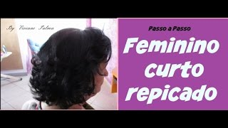 getlinkyoutube.com-Corte: Feminino Curto e Repicado