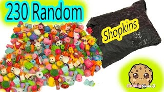 getlinkyoutube.com-Super Large Random Surprise Lot of 230 Shopkins Season 2, 3, 4, 5 Mystery Package