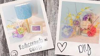 getlinkyoutube.com-Redecorando mi cuarto (parte 1)