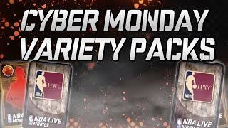 getlinkyoutube.com-CYBER MONDAY VARIETY PACKS! GOOD PULLS! NBA LIVE MOBILE