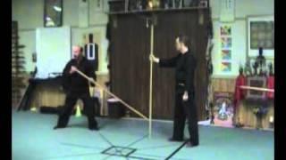 getlinkyoutube.com-Ninja Bojutsu - Long Staff Lesson