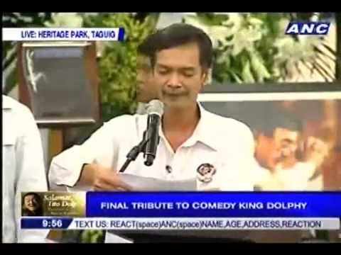 FINAL TRIBUTE TO COMEDY KING, BROD PETE`S EULOGY,