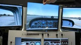 getlinkyoutube.com-Multi-monitor flightsimulator display explanation