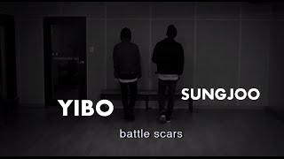 getlinkyoutube.com-UNIQ Yibo Sungjoo Cover Battle Scars