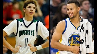 STEPHEN CURRY VS LAMELO BALL 1 ON 1 (Curry vs LaMelo)