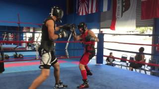 Brian Nevarez sparring Brayan Garcia ( Chula Vista CA )