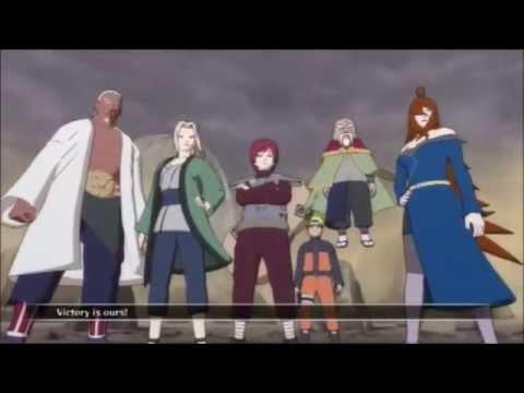 Naruto Shippuden: 5 Kage VS Madara Uchiha