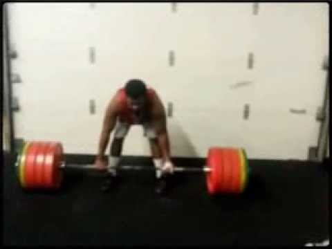 Darrel Deflorimonte 385 lbs deadlift