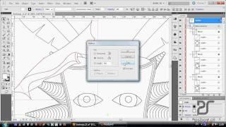 getlinkyoutube.com-Kurs Illustrator CS5 - tworzenie kształtów dzięki shape builder'owi
