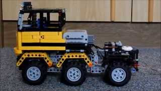 getlinkyoutube.com-Lego Technic Heavy Tractor (6x6)